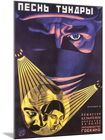 Russian Adventure Film Poster--Mounted Art Print