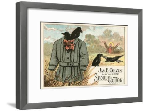 Ineffective Scarecrow--Framed Art Print