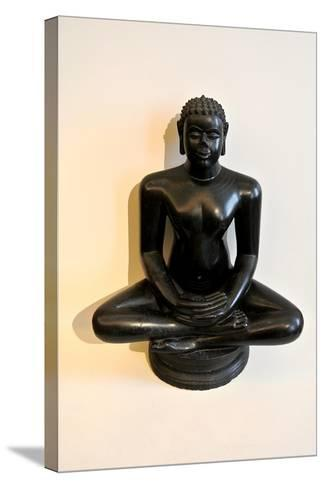 Buddha Statue--Stretched Canvas Print