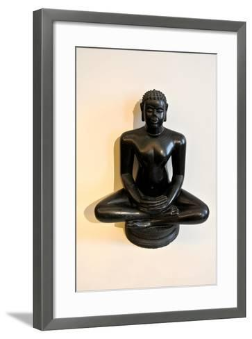 Buddha Statue--Framed Art Print