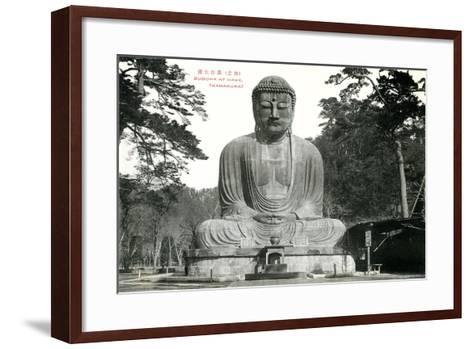 Hase Kamakura Buddhist Temple--Framed Art Print