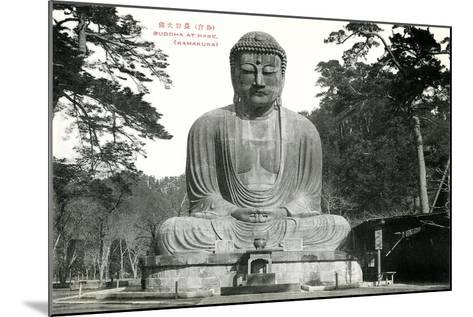 Hase Kamakura Buddhist Temple--Mounted Art Print