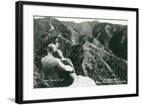 Huggins Hell, Great Smoky Mountains--Framed Art Print