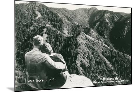Huggins Hell, Great Smoky Mountains--Mounted Art Print