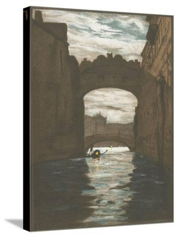 Bridge of Sighs, Venice--Stretched Canvas Print