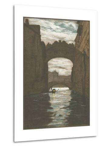 Bridge of Sighs, Venice--Metal Print