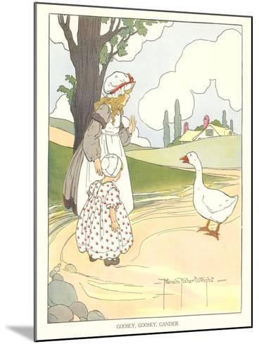 Goosey, Goosey Gander--Mounted Art Print