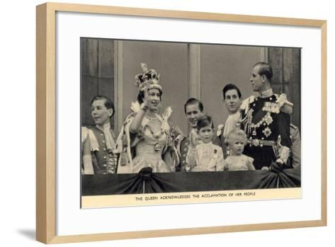 The Royal Family--Framed Art Print