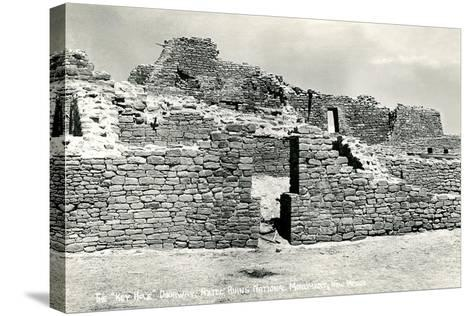 Aztec Ruins National Monument--Stretched Canvas Print