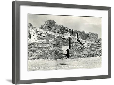 Aztec Ruins National Monument--Framed Art Print