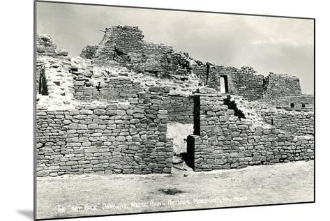 Aztec Ruins National Monument--Mounted Art Print