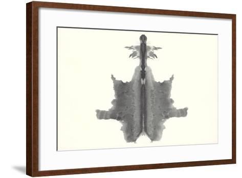 Rorschach Chart Image--Framed Art Print