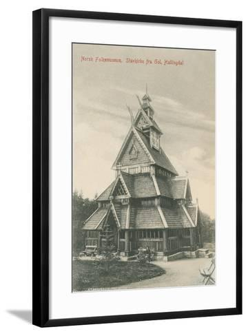 Norwegian Folk Museum--Framed Art Print