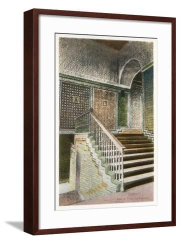 Pilates House, Seville, Spain--Framed Art Print