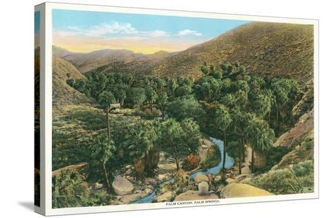 Palm Canyon, California--Stretched Canvas Print