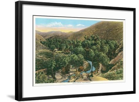 Palm Canyon, California--Framed Art Print