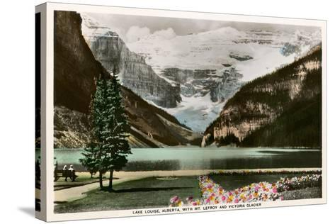Lake Louise, Alberta, Canada--Stretched Canvas Print