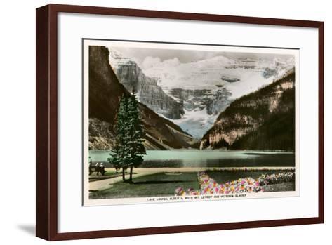 Lake Louise, Alberta, Canada--Framed Art Print