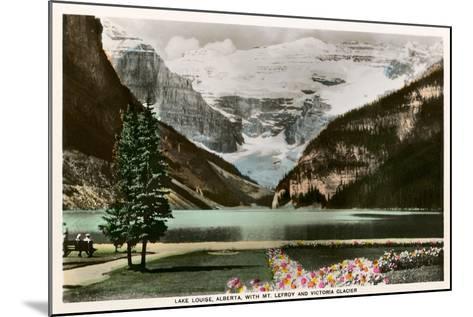 Lake Louise, Alberta, Canada--Mounted Art Print