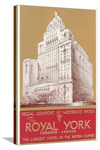 Royal York Hotel, Toronto--Stretched Canvas Print