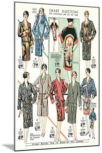 Twenties Clothes Catalog--Mounted Art Print