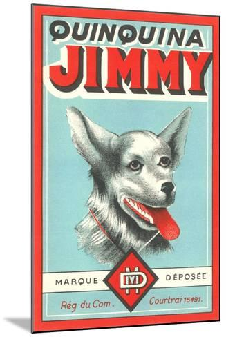Jimmy Quinine Label--Mounted Art Print