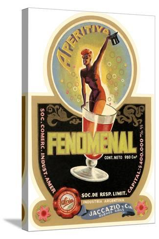 Label for Fenomenal Apertif--Stretched Canvas Print