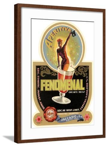 Label for Fenomenal Apertif--Framed Art Print