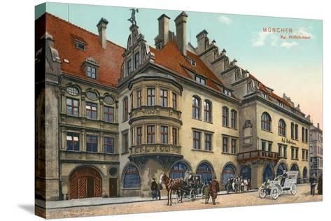 Royal Hofbrauhaus, Munich, Germany--Stretched Canvas Print