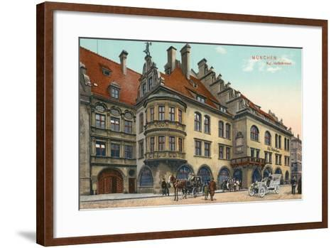 Royal Hofbrauhaus, Munich, Germany--Framed Art Print
