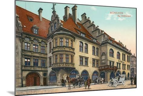 Royal Hofbrauhaus, Munich, Germany--Mounted Art Print
