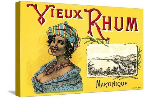 Vieux Rhum, Martinique--Stretched Canvas Print