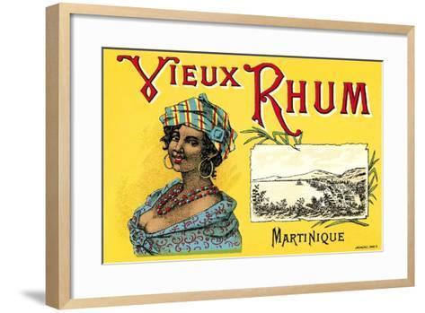 Vieux Rhum, Martinique--Framed Art Print