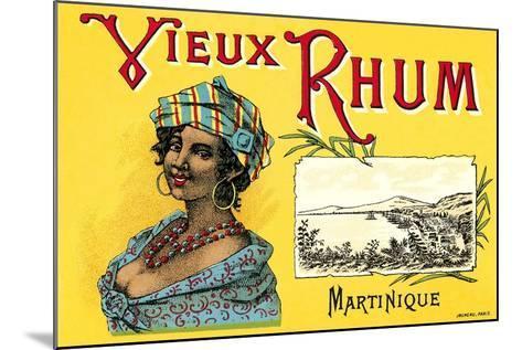 Vieux Rhum, Martinique--Mounted Art Print