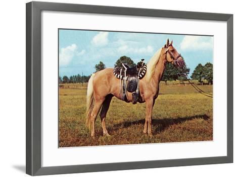 Palomino--Framed Art Print