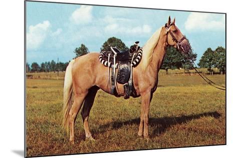 Palomino--Mounted Art Print
