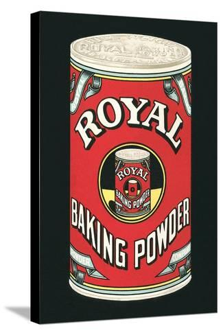 Royal Baking Powder Can--Stretched Canvas Print