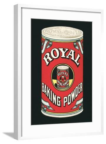 Royal Baking Powder Can--Framed Art Print
