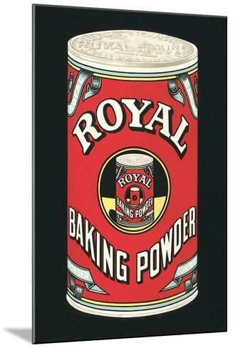 Royal Baking Powder Can--Mounted Art Print