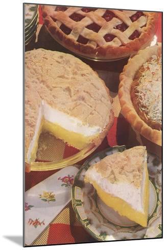 Yummy Pies--Mounted Art Print