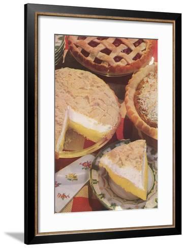 Yummy Pies--Framed Art Print