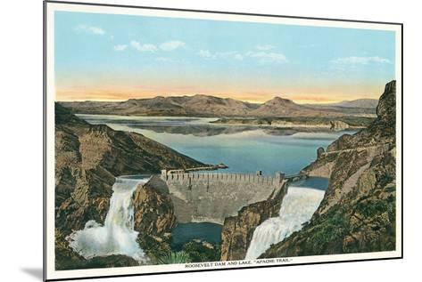 Roosevelt Dam, Apache Trail--Mounted Art Print