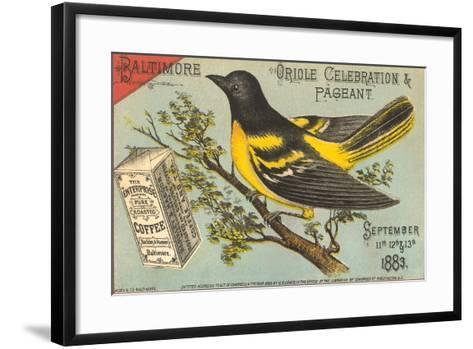 Baltimore Oriole Pageant--Framed Art Print