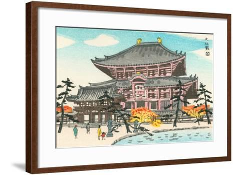 Large Pagoda--Framed Art Print