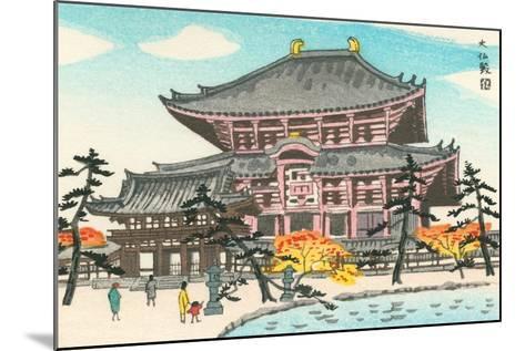 Large Pagoda--Mounted Art Print