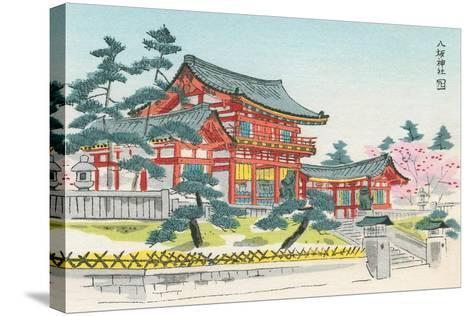 Pagoda and Grounds--Stretched Canvas Print
