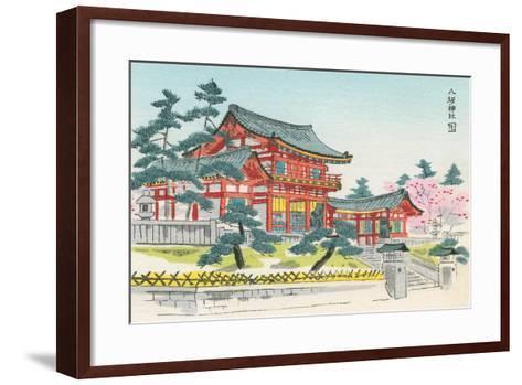 Pagoda and Grounds--Framed Art Print