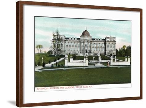 Botanical Museum and Gardens, Bronx, NY--Framed Art Print