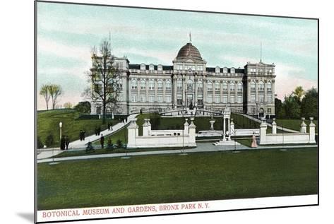 Botanical Museum and Gardens, Bronx, NY--Mounted Art Print