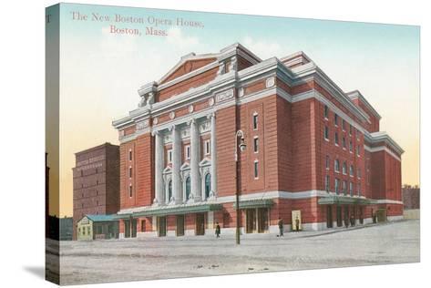 Boston Opera House--Stretched Canvas Print